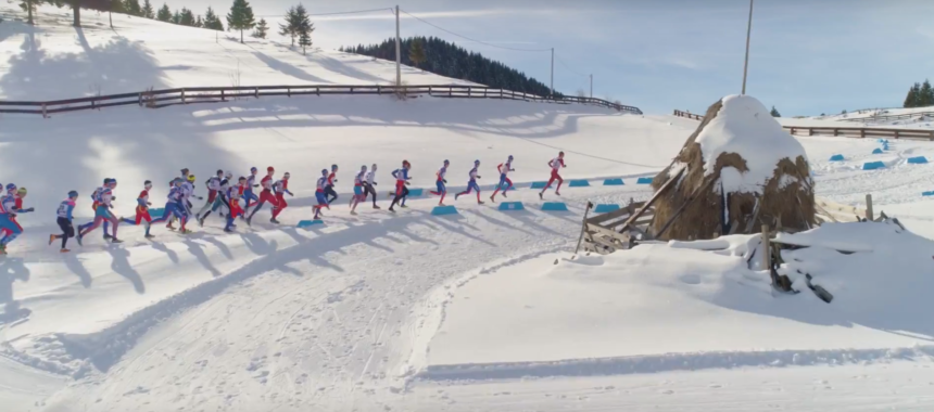 Basm de iarnă. Concurs real: Winter Triathlon