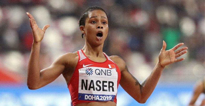 Salwa Eid Naser, campioană mondială la 400 de metri, suspendată pentru că nu a fost găsită de trei ori de agenţii antidoping