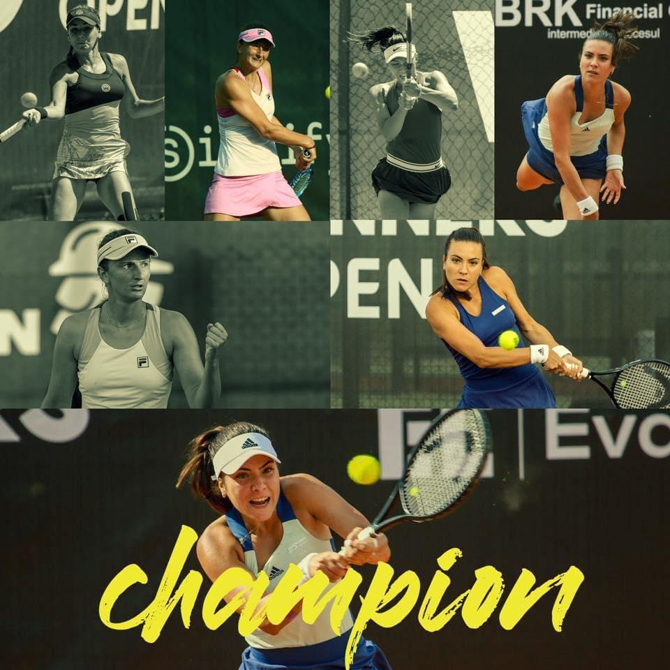 Gabriela Ruse a învins-o pe Irina Begu şi a câştigat turneul demonstrativ de tenis Winners Open