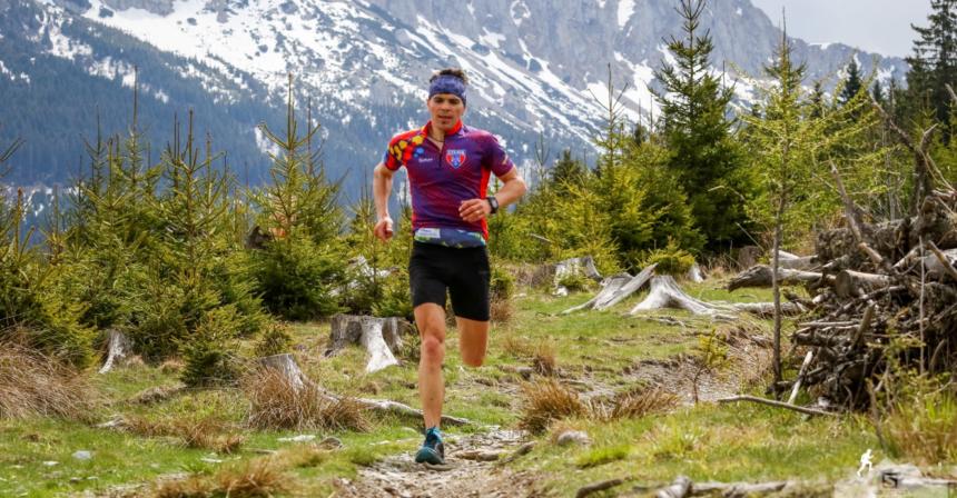 Cristian Moșoiu, dublu campion național la alergare montană