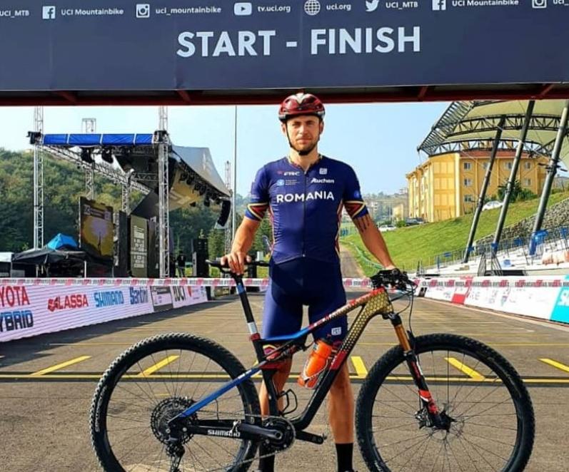 Bogdan Duca a încheiat sezonul pentru mountain bike-ul românesc