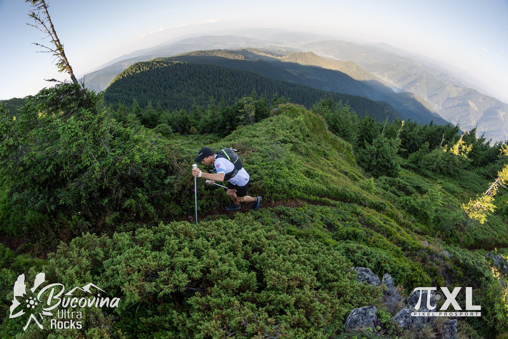 Bucovina, plai cu flori și cu Ultramaraton