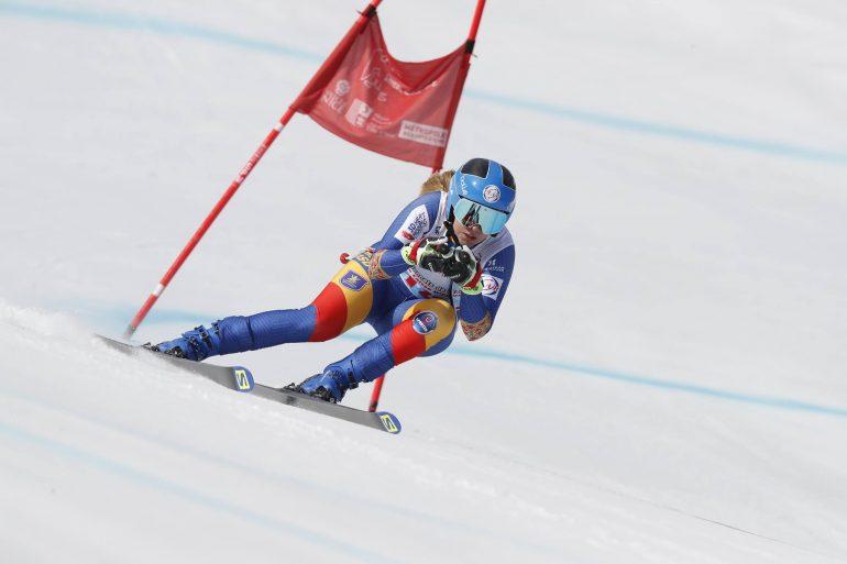 Ania Caill, două clasări pe podium în aceeaşi zi la slalom super-uriaş, în Franţa