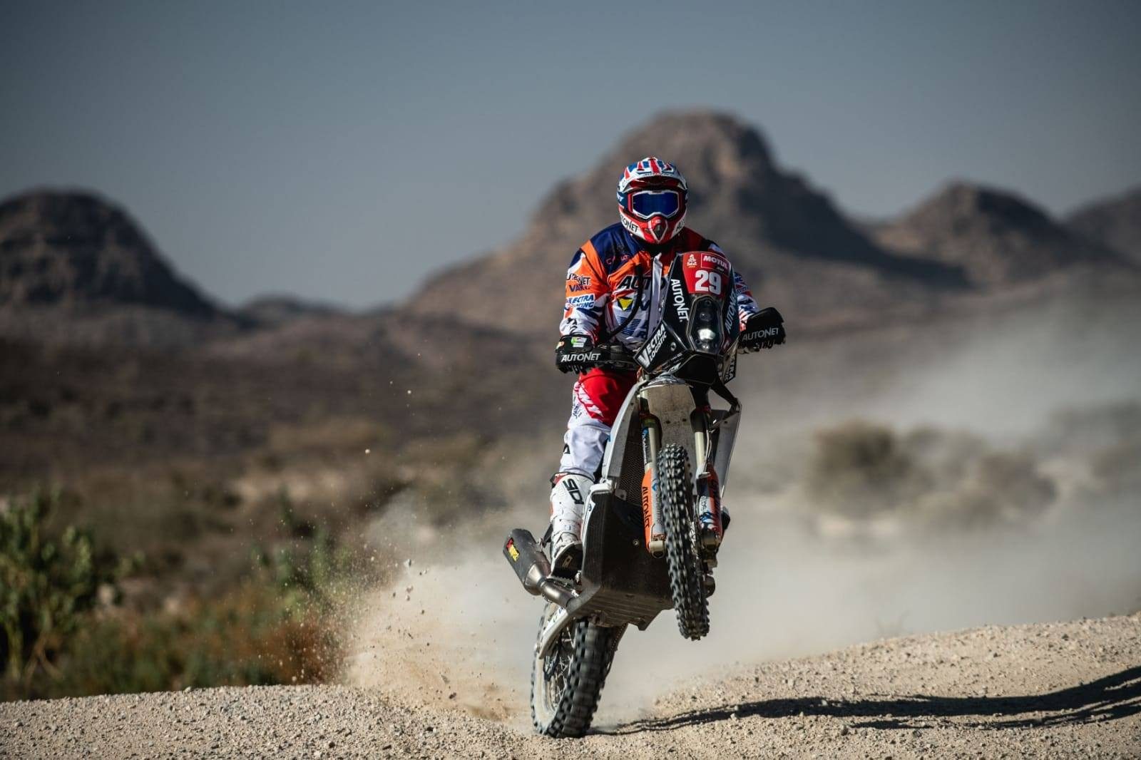 Emanuel Gyenes, lider după două etape la clasa Malle Moto, la Raliul Dakar