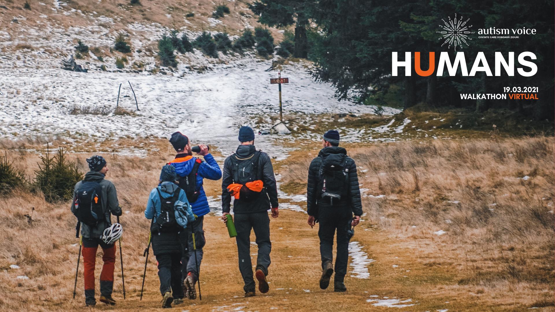 Humans Walkathon 2021. Testul răbdării și al empatiei continuă