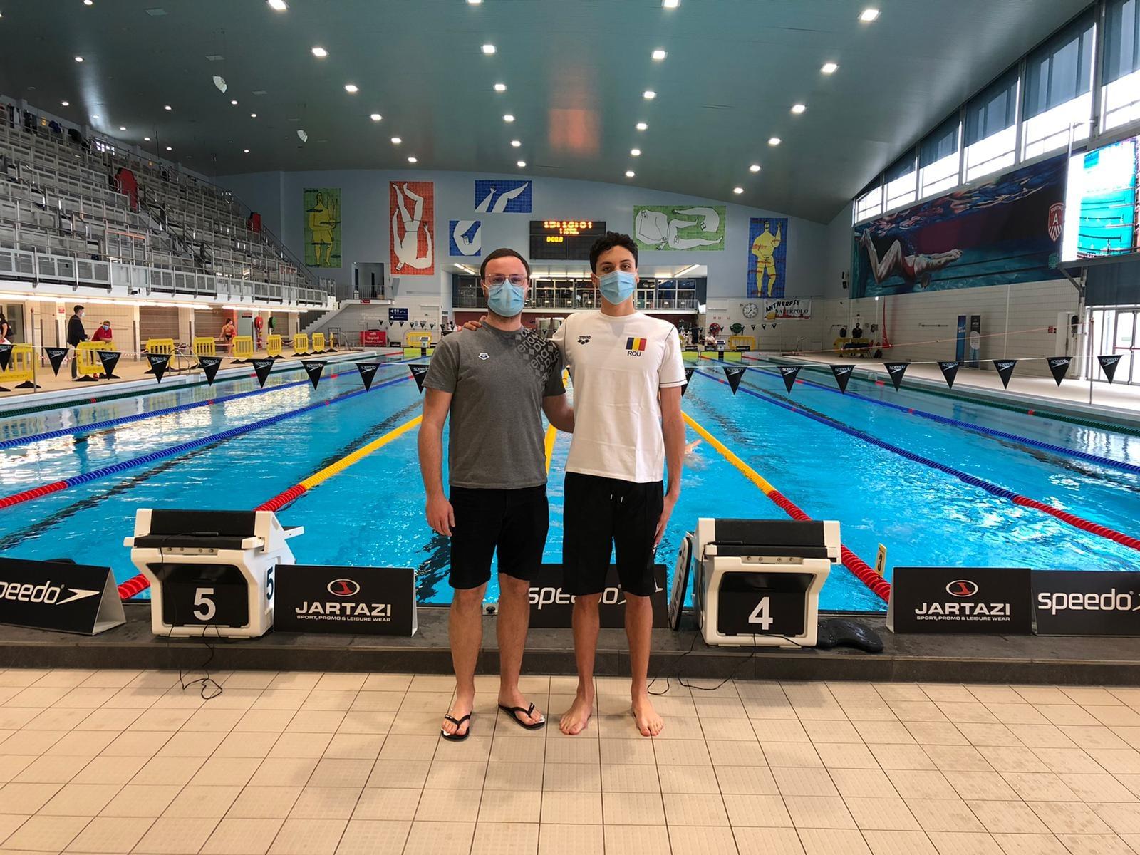 David Popovici, victorie la Open-ul belgiei la înot