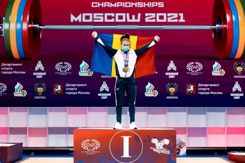 O româncă, desemnată cea mai bună sportivă de la Europenele de haltere