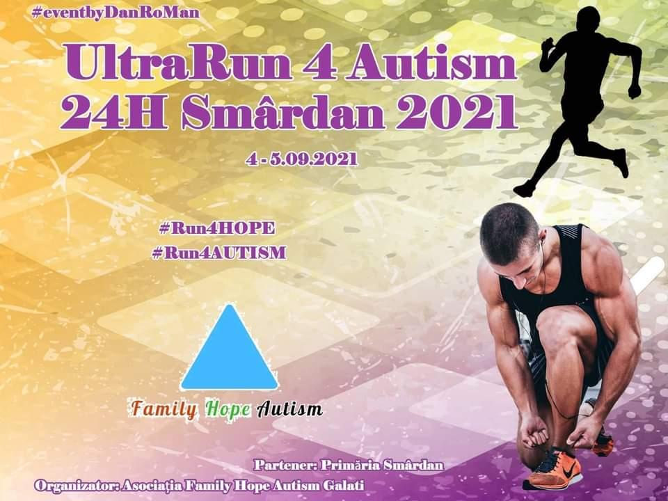 UltraRun for Autism 24H Smârdan 2021. 15 echipe vor participa la concursul din judeţul Galaţi