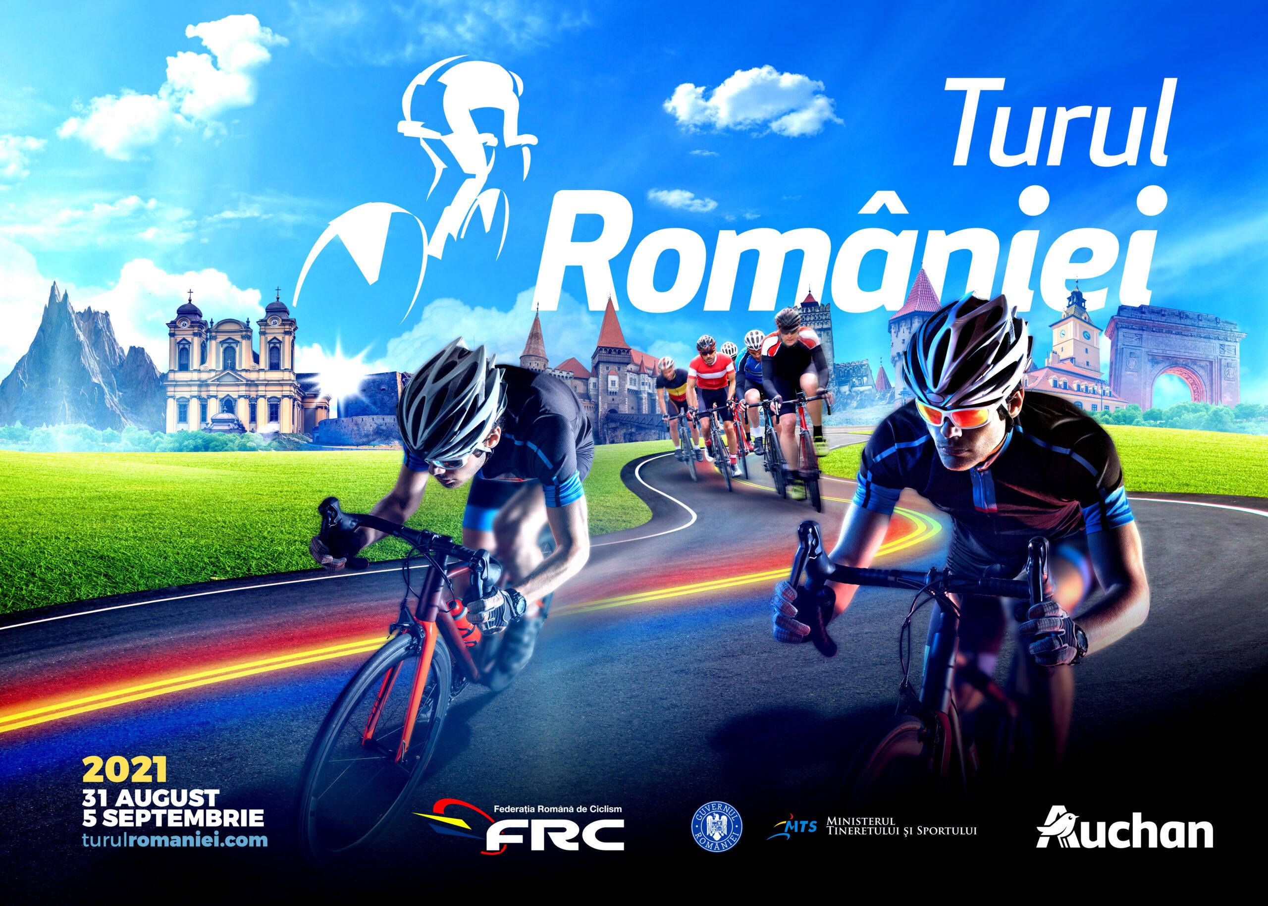 Traseu spectaculos pentru Turul Ciclist al României 2021