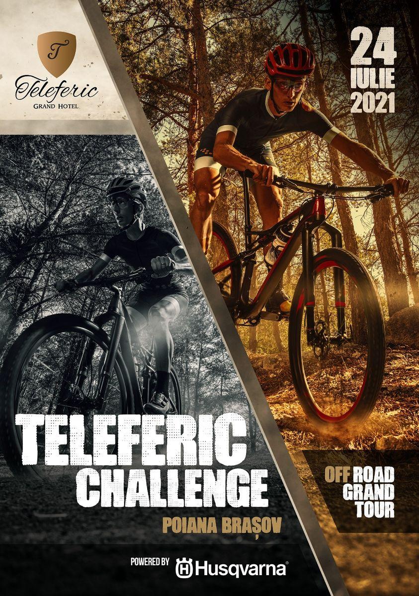 Cu bicicleta prin Poiană, de la Teleferic